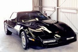 Custom Auto Paint Chevy Corvette Black