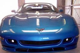 Custom Auto Paint Chevy Corvette Blue