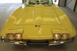 Custom Auto Paint 1965 Chevy Corvette Stingray Convertible Yellow