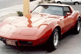 Custom Auto Paint Chevy Corvette Red