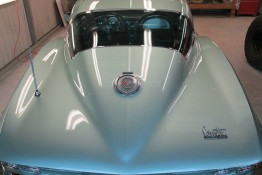 Custom Auto Paint 1966 Chevy Corvette Stingray Blue Silver