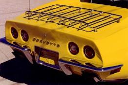 Custom Auto Paint Chevy Corvette Yellow