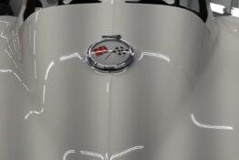 Custom Auto Paint Chevy Corvette Sting Ray White